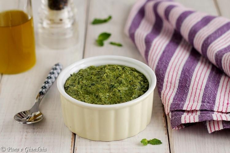 Salsa verde di erbe