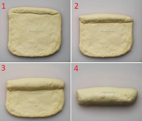 Arrotolare pan bauletto