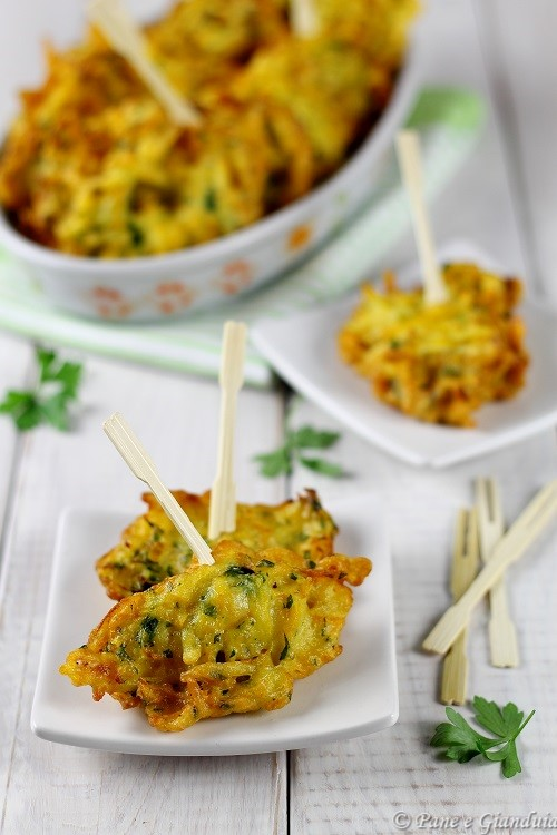 Frittelle zucca e patate