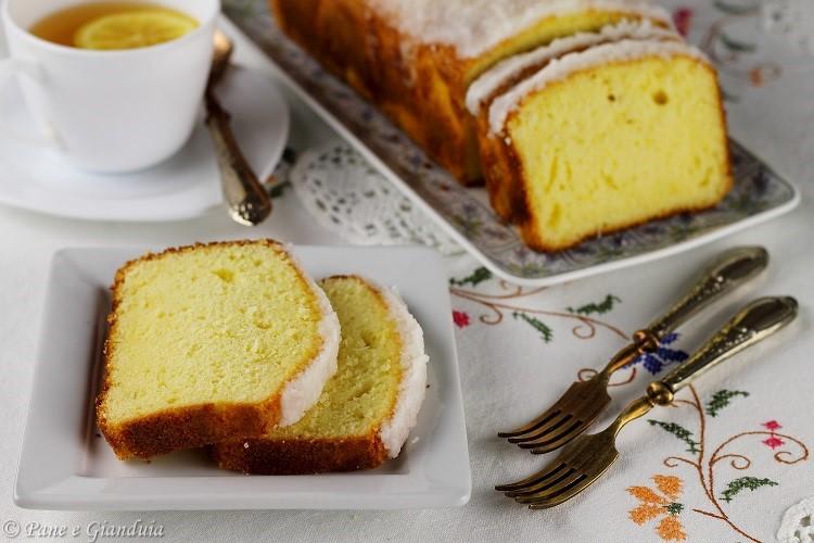 Plumcake limone e cocco