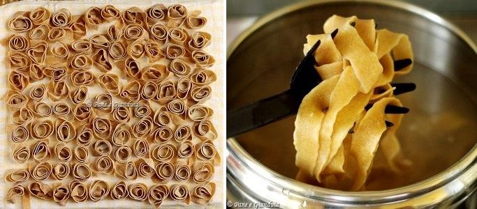 Essicare pasta fresca