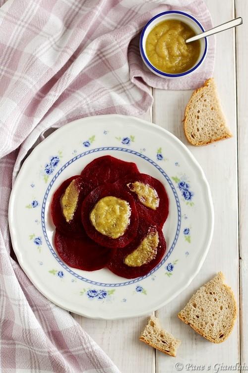 Barbabietole con crema alla senape