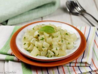 Daikon alla soia e basilico