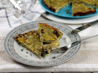 Frittata di carciofi e olive