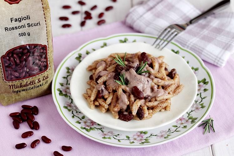 Malloreddus con fagioli rossi e alici