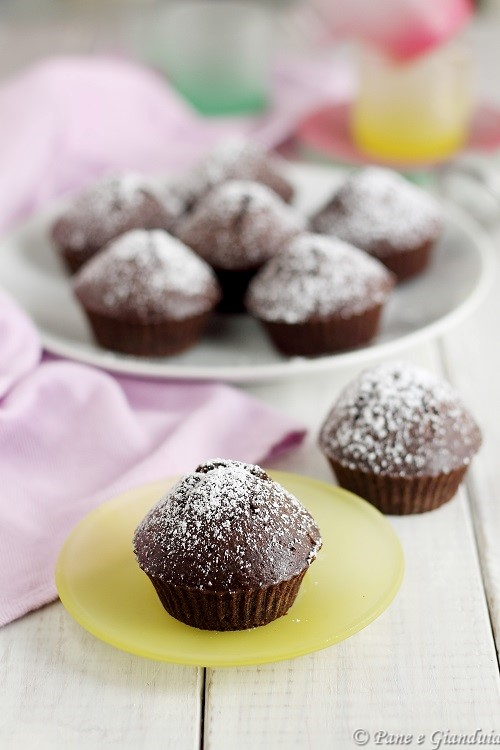 Muffin cacao e arancia