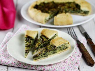Torta salata di spinaci