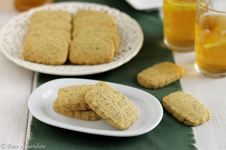 Biscotti alla menta e limone