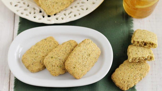 Biscottini alla menta e limone