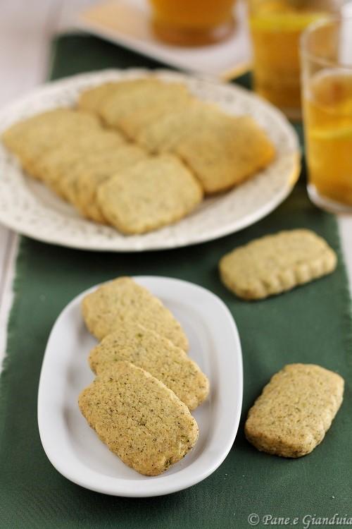 Biscottini menta e limone