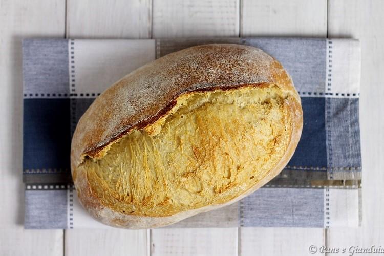 Pane di semola con la cresta