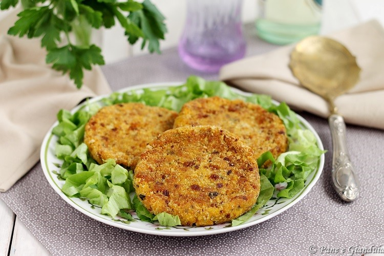 Cotolette vegetariane di zucca e patate