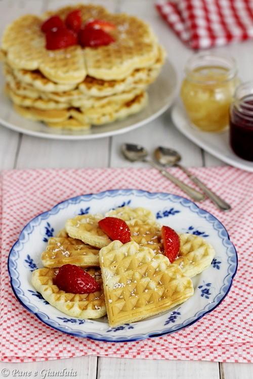 Waffle ricetta senza burro